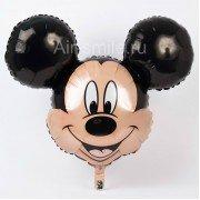 """Фольгированный шар """"Голова Микки Маус"""""""