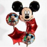 """Набор фольгированных шаров """"Микки Маус"""""""