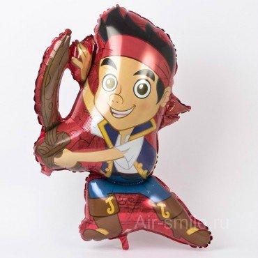 Фольгированный шарик пират Джейк