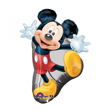 Фольгированный шарик Танцующий Микки