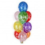 """Воздушные шарики металлик с рисунком """"Бабочки"""""""
