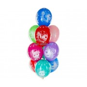 """Воздушные шары с рисунком """"Маша и Медведь"""""""