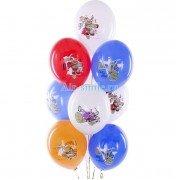 """Воздушные шары с рисунком """"Черепашки-ниндзя"""""""
