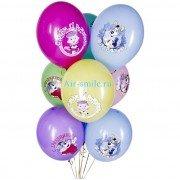 """Воздушные шары с рисунком """"Простоквашино"""""""