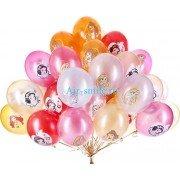 """Воздушные шары с рисунком """"Принцессы"""""""