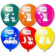 """Воздушные шары с рисунком """"Свинка Пеппа"""""""