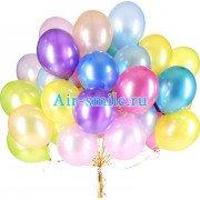 Воздушные шарики металлик